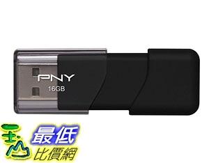 [7美國直購] 隨身碟 PNY Attache USB 2.0 Flash Drive, 16GB/ BLACK (P-FD16GATT03-GE)