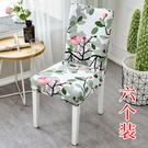 椅墊套 家用簡約裝餐椅套通用凳套座椅套彈...