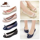 雨鞋 時尚果凍鞋蝴蝶結淺口短筒雨鞋韓國低幫學生成人水鞋 巴黎春天