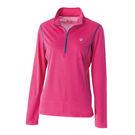 Wildland 荒野 女抗UV長袖衣 抗紫外線/多功能/吸濕快乾/登山旅遊 0A51621-09桃紅色