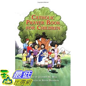 [106美國直購] 2017美國暢銷兒童書 Catholic Prayer Book for Children