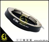 ES數位館 Leica M 鏡頭轉 M 4/3 Micro 4/3 機身鏡頭轉接環 EPL5 EPL3 G1 GF3 GF5 GH1 E-P3 E-P2 KW06