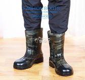 雨鞋 時尚雨鞋男防滑防水膠鞋短筒雨靴男中筒水鞋套鞋男 俏腳丫
