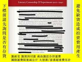 二手書博民逛書店Obscene罕見Modernism: Literary Cen