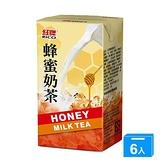 紅牌蜂蜜奶茶300ml x 6【愛買】