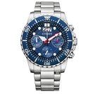 CITIZEN 星辰 石英計時腕錶 AI7001-81L 藍