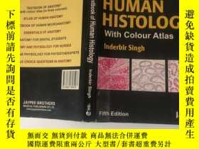 二手書博民逛書店Textbook罕見of Human Histology wit
