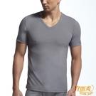 【宜而爽】3件組時尚吸濕排汗速乾型男短袖衫~灰