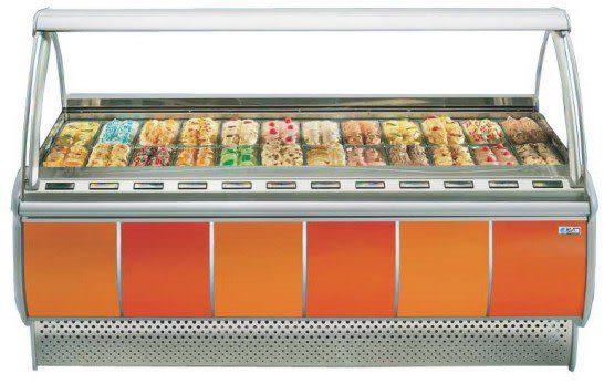 義大利 ISA 冰淇淋櫃【無霜冰櫃】型號:FOCUS-24
