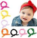 [快速出貨] 寶寶 髮帶 彈力布 兔耳朵 新款 歐美 兒童 頭飾 多色選擇 嬰幼