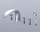 【麗室衛浴】TAP  5件式  浴缸龍頭  112022