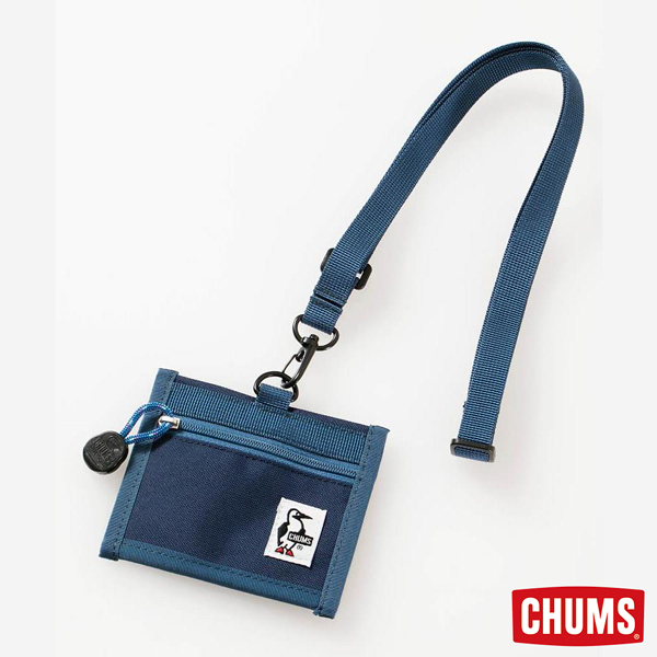 CHUMS Eco ID Card Holder 證件帶 深藍 CH602488N001【GO WILD】