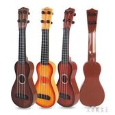 初學者兒童吉他玩具可彈出聲音 男孩女孩古典音樂樂器 yu5129【艾菲爾女王】
