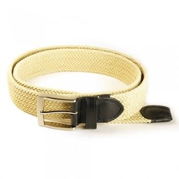 能量彈性編織腰帶-黑