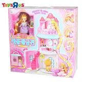 迷你MIMI長髮公主城堡 玩具反斗城