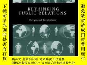 二手書博民逛書店Rethinking罕見Public RelationsY364682 Moloney, Kevin Rout