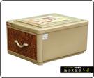 {{ 海中天休閒傢俱廣場 }} B-99  摩登時尚 抽屜整理箱系列 QJ09 核桃木抽屜整理箱