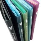 HFPWP 40頁資料簿 外版加厚內頁穿紙.圓弧背寬外銷歐洲精品 無毒材質台灣製 E40