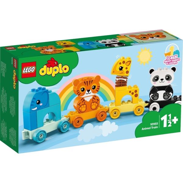 樂高積木Lego 10955 動物火車