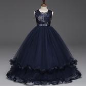 女童禮服 禮服兒童春裝夏季蓬蓬紗裙子洋氣公主 - 雙十二交換禮物
