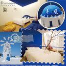 家適得『旅行趣』五星級大飯店民宿_雙人加大白色平紋床包(不含枕套)-6X6.2尺