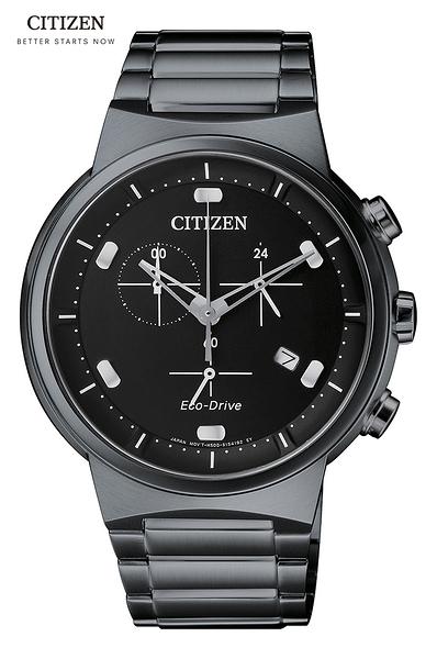 CITIZEN Eco-Drive 時尚光動能錶( AT2405-87E)星辰錶41mm