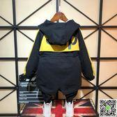 男童外套秋冬裝 新款潮兒童冬季加厚寶寶中長款上衣韓版小棉衣 聖誕狂購免運