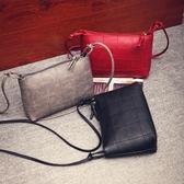 新款韓版潮流女包複古女士小包包簡單粗線小包單肩斜挎小包