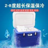 車載保溫箱冷藏箱2-8度胰島素疫苗保冷箱藥品便攜式外賣赫賽汀盒YXS『小宅妮時尚』