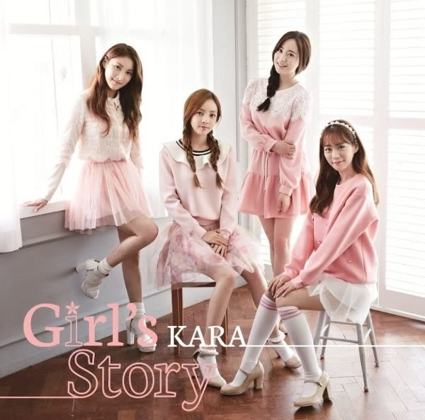 KARA  Girl's Story  CD附DVD (購潮8)