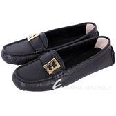 FENDI 金屬LOGO牛皮休閒鞋(黑色) 1530285-01