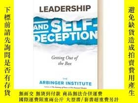 二手書博民逛書店領導力與自欺欺人罕見英文原版 Leadership and Self-Deception Arbinger Ins