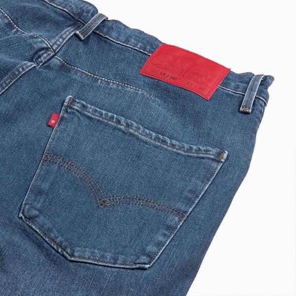 Levis 男款 上寬下窄 / 541低腰寬鬆牛仔褲 / LEJ 3D褲 / 復古水洗