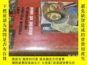 二手書博民逛書店英文原版罕見Art From Found MaterialsY7215 Mary Lou Stribling
