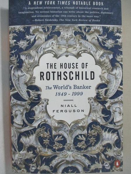 【書寶二手書T1/大學商學_FK6】The House of Rothschild: The World's Banker 1849-1998