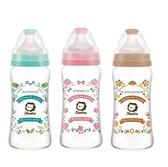 Simba小獅王辛巴蘿蔓晶鑽寬口玻璃大奶瓶(三色可挑)270ml 177元