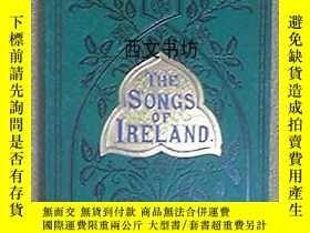 二手書博民逛書店【罕見】1891年 The Songs Of Ireland: