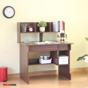 【RICHOME】BILLY雙抽電腦書桌
