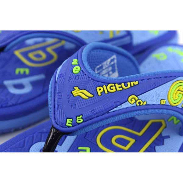 G.P(GOLD PIGEON) 夾腳拖鞋 人字拖 藍色 大童 童鞋 G0527B-20 no392