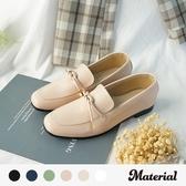 樂福鞋 素面扭結樂福鞋 MA女鞋 T52815