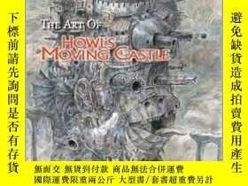 二手書博民逛書店The罕見Art of Howl s Moving Castle