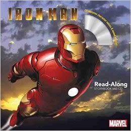 【麥克書店】IRON MAN (鋼鐵人1) /英文繪本附CD ‧聽迪士尼說故事