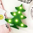 【BlueCat】白雲朵聖誕樹LED造型燈 裝飾燈 氣氛燈 夜燈