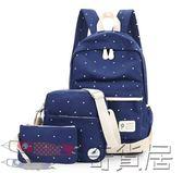 雙十二狂歡購大容量女包帆布背包中小學生書包旅游休閒雙肩背包兒童背包7-12歲【奇貨居】