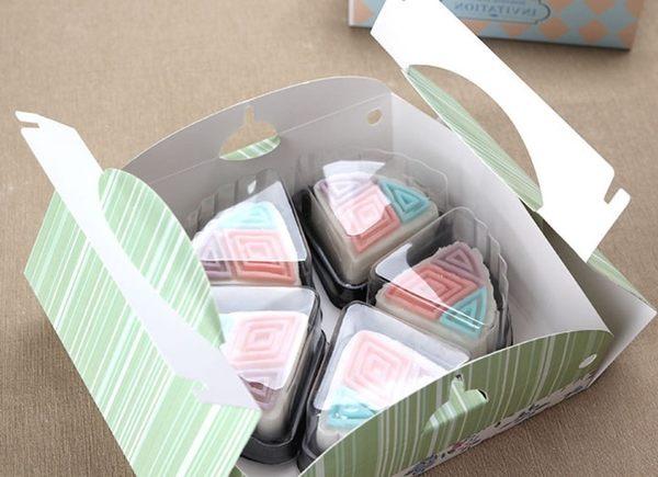 月餅吸塑盒  扇形   適用50g月餅裝  20入售   想購了超級小物