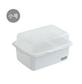 奶瓶收納架 兒童奶瓶收納箱盒帶蓋防塵瀝水晾干架放寶寶餐具的儲存盒子【快速出貨八折特惠】