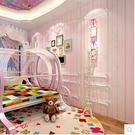 粉色背景牆紙無紡布溫馨臥室房壁紙PLL936【男人與流行】
