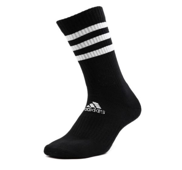 Adidas 3S CSH CRW1P 男女款黑色長襪-NO.FH6629