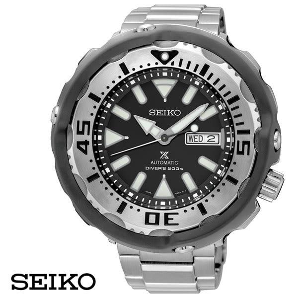 SEIKO 銀框鮪魚罐200米機械鋼帶潛水錶 SRPA79J1 4R36-05R0D 公司貨   名人鐘錶高雄門市