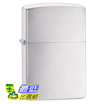 [104 美國直購] Zippo Brushed Chrome Pocket Lighter 打火機 拉絲鉻